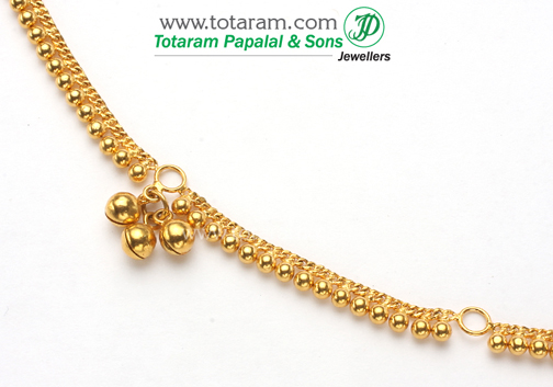 22K Gold Baby Waist Chain 235GMT001 in 9800 Grams