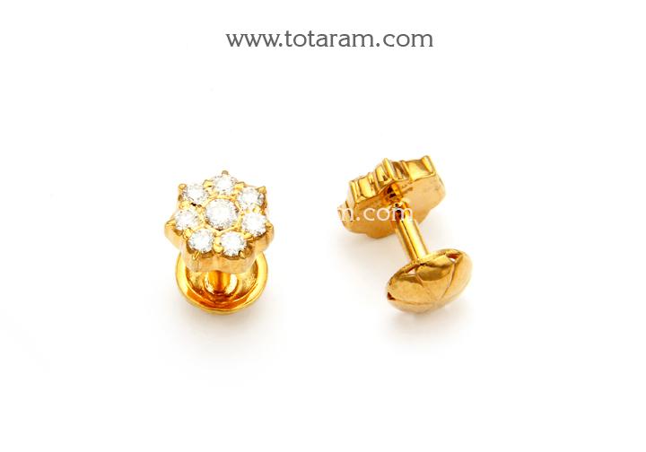 Clic Seven Stone Diamond Studs Source 22k Gold Earrings 1 Der798 In 5 250 Grams