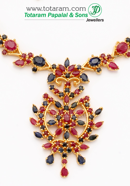 Fashion style Drop Ruby earrings indian for lady