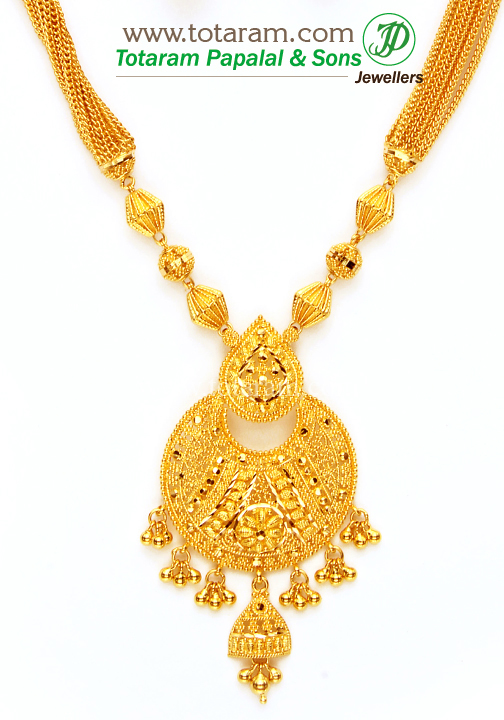 22k gold necklace earrings set gs2619 for 22k gold jewelry usa